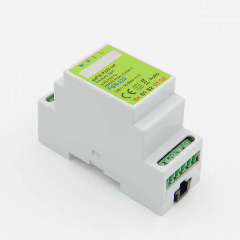 Eutonomy Adapter Din For Fibaro Roller Shutter Fgr 223