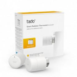 tado° Tête Thermostatique Intelligente - Pack Duo, accessoire pour le contrôle de chauffage multi-pièces