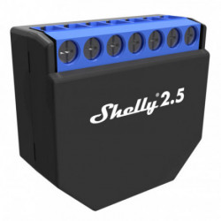 SHELLY - Wi-Fi Smart Relay Switch Shelly 2.5 ( 2 outputs)
