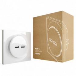 FIBARO - Walli N USB Outlet