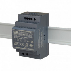 MEANWELL - Alimentation 24V/2,5A format Rail DIN