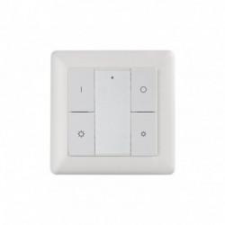 SUNRICHER - 4 butons wall mounted Z-Wave+ dimmer controller