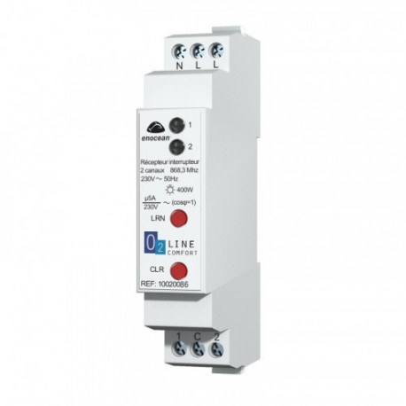 TRIO2SYS - Bidirectionnal 1-channel EnOcean receiver 16A