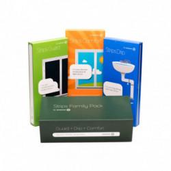 SENSATIVE - Strips Family Pack (1x Strips Guard, 1x Strips Drip, 1x Strips Comfort)