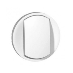 LEGRAND White finishing button for Celiane switch
