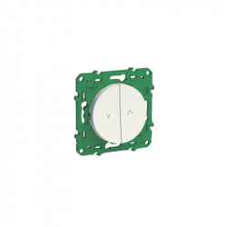 SCHNEIDER ELECTRIC - Wireless and batteryless roller shutter wall switch