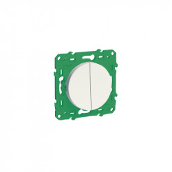 SCHNEIDER ELECTRIC - Wireless and batteryless dual wall switch