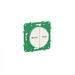 SCHNEIDER ELECTRIC - Interrupteur double sans fil sans pile pour commande centralisée