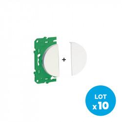 SCHNEIDER ELECTRIC - Demi-mécanisme pour interrupteur Odace sans fil sans pile (pack de 10)