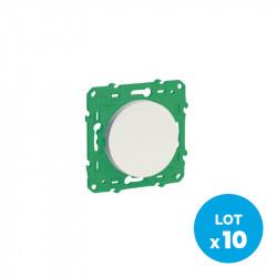 SCHNEIDER ELECTRIC - Interrupteur sans fil sans pile pour éclairage (pack de 10)