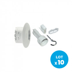 SCHNEIDER ELECTRIC - DCL lighting actuator for Ø80mm center box (10-pack)