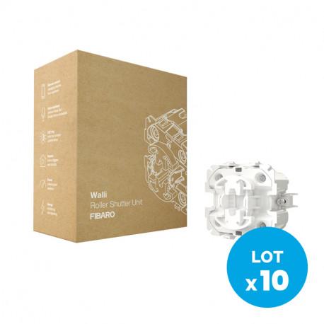FIBARO - Walli Roller Shutter Unit (10-Pack)
