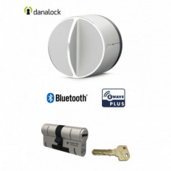 DANALOCK - Smart Doorlock Bluetooth and Z-Wave V3 + cylinder