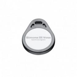 SIMONSVOSS - Lot de 5 badges porte-clés format Mifare Desfire 8K