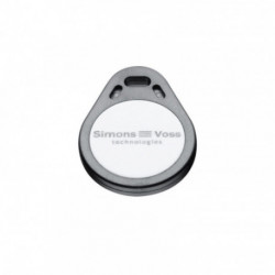 SIMONSVOSS - Set of 5 key ring badges Mifare Desfire 8K format