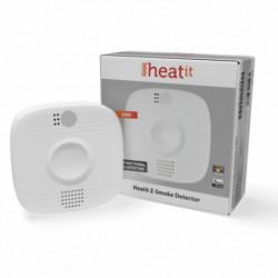 HEATIT CONTROLS - Détecteur de fumée multifonctions Z-Wave+ Z-Smoke (sur secteur)