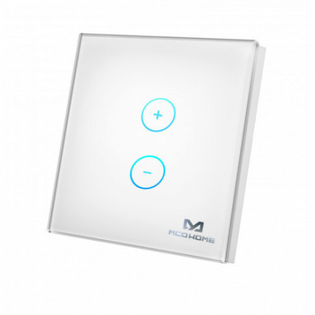 MCOHOME - Z-Wave+ Touch Panel Dimmer, white