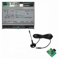 CARTELECTRONIC - Serveur WES V2 avec antenne RF 868 Mhz
