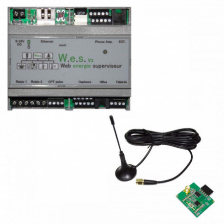 CARTELECTRONIC - Server V2 WES with RF 868 Mhz antenna