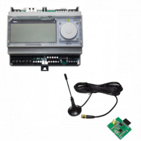 CARTELECTRONIC - Server V2 WES with display and 868 Mhz RF antenna