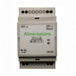 CARTELECTRONIC - Alimentations WES 12VDC & 9VAC