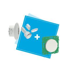 SCHNEIDER ELECTRIC - Kit d'évaluation Odace Sans Fil Sans Pile