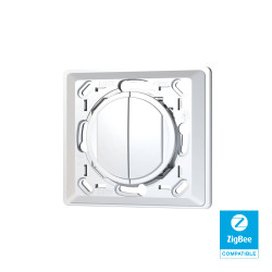TRIO2SYS - 2-button Zigbee wall switch compatible CELIANE