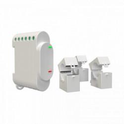 SHELLY - Compteur d'énergie triphasé Wi-Fi avec contacteur 10A Shelly 3EM