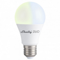 SHELLY - Ampoule LED Wi-Fi E27 9W blanc variable Shelly Duo