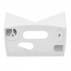STEINEL - Support mural d'angle 07 Blanc pour IS 140-2
