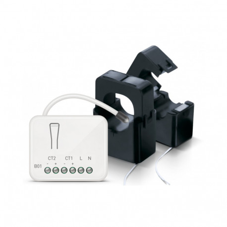PHILIO - Smart Meter Z-Wave+ with 2 CT clamp