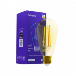 SONOFF - Smart Wi-Fi LED Filament Bulb (Amber)