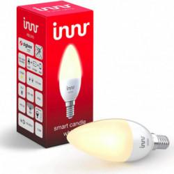 INNR - Ampoule connectée type E14 - ZigBee 3.0 - Blanc chaud - 2700K