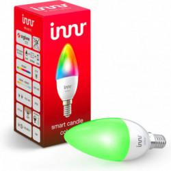INNR - Ampoule connectée type E14 - ZigBee 3.0 Multicolor RGBW + Blanc réglable - 2200K à 6500K