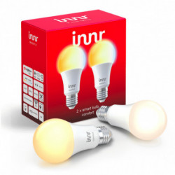 INNR - Connected bulb type E27 - ZigBee 3.0 - Pack of 2 bulbs - White adjustable - 2200K to 5000K