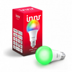 INNR - Connected bulb type E27 - ZigBee 3.0 - Multicolor RGBW + White adjustable - 2200K to 6500K