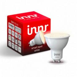 INNR - Ampoule connectée type GU10 - ZigBee 3.0 - Blanc chaud - 2700K