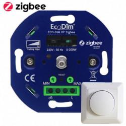 ECODIM - Smart LED rotary dimmer Zigbee 3.0 200W