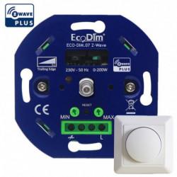 ECODIM - Smart LED rotary dimmer Z-Wave 200W