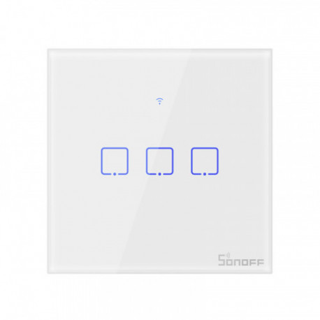 SONOFF - WIFI smart switch with neutral - 3 loads