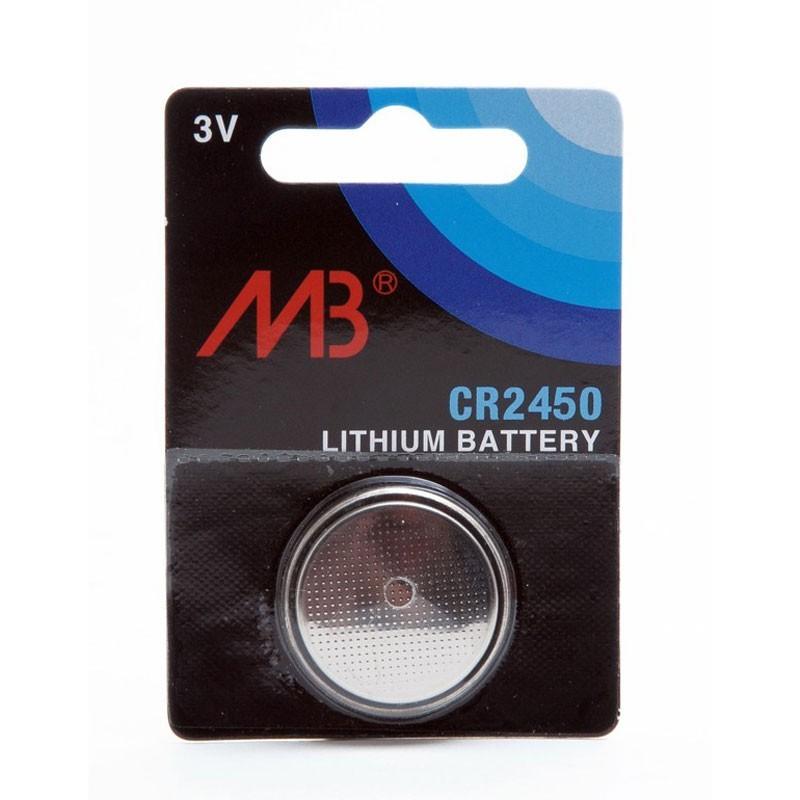Microbatt Blister Lithium Button Cell Cr2450 3v 600mah