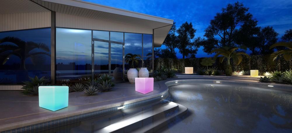 Lampe décorative Awox intérieure/extérieure Bluetooth SmartLIGHT Ambiance Cube