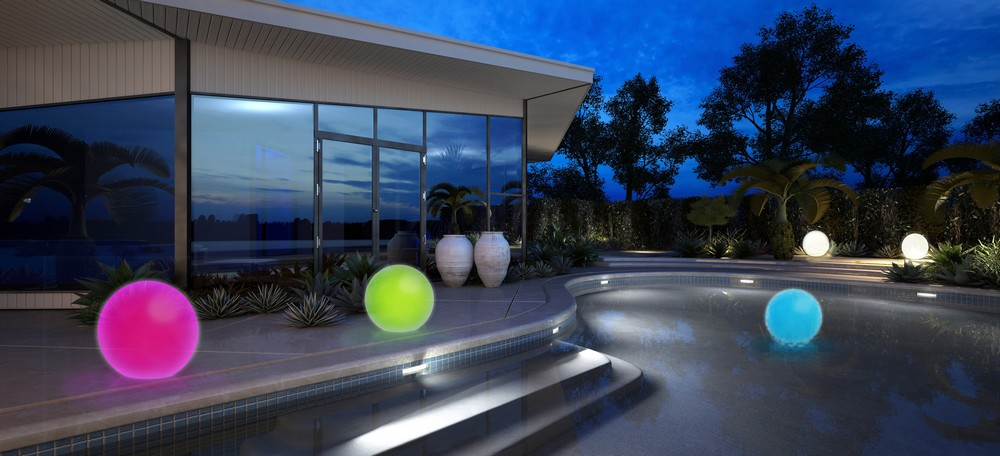 Lampe décorative Awox int/ext Bluetooth SmartLIGHT Ambiance Sphère